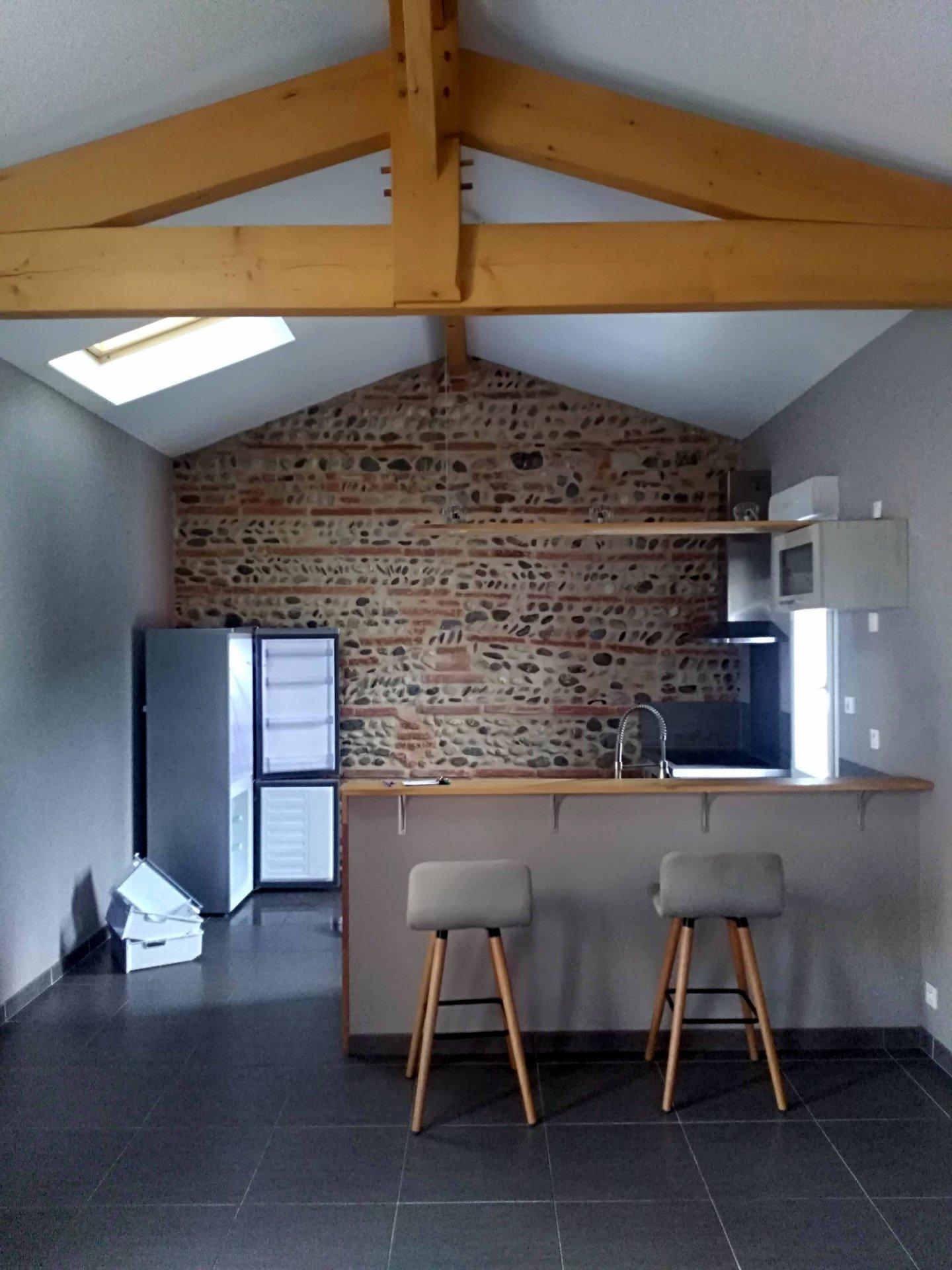 Bar, fenêtre de toit