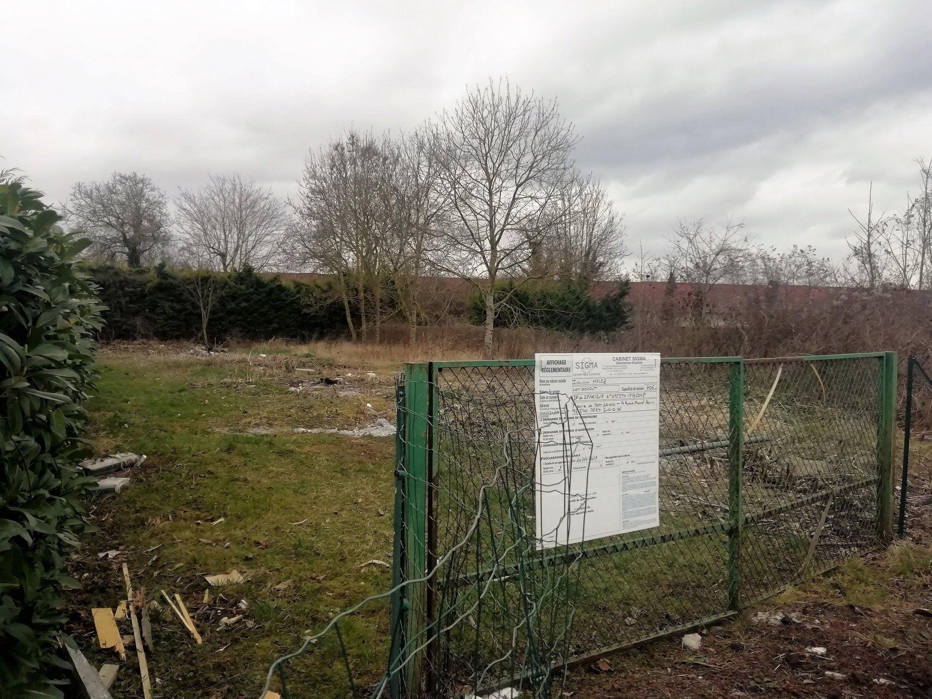 Sale Building land - Mery Sur Oise
