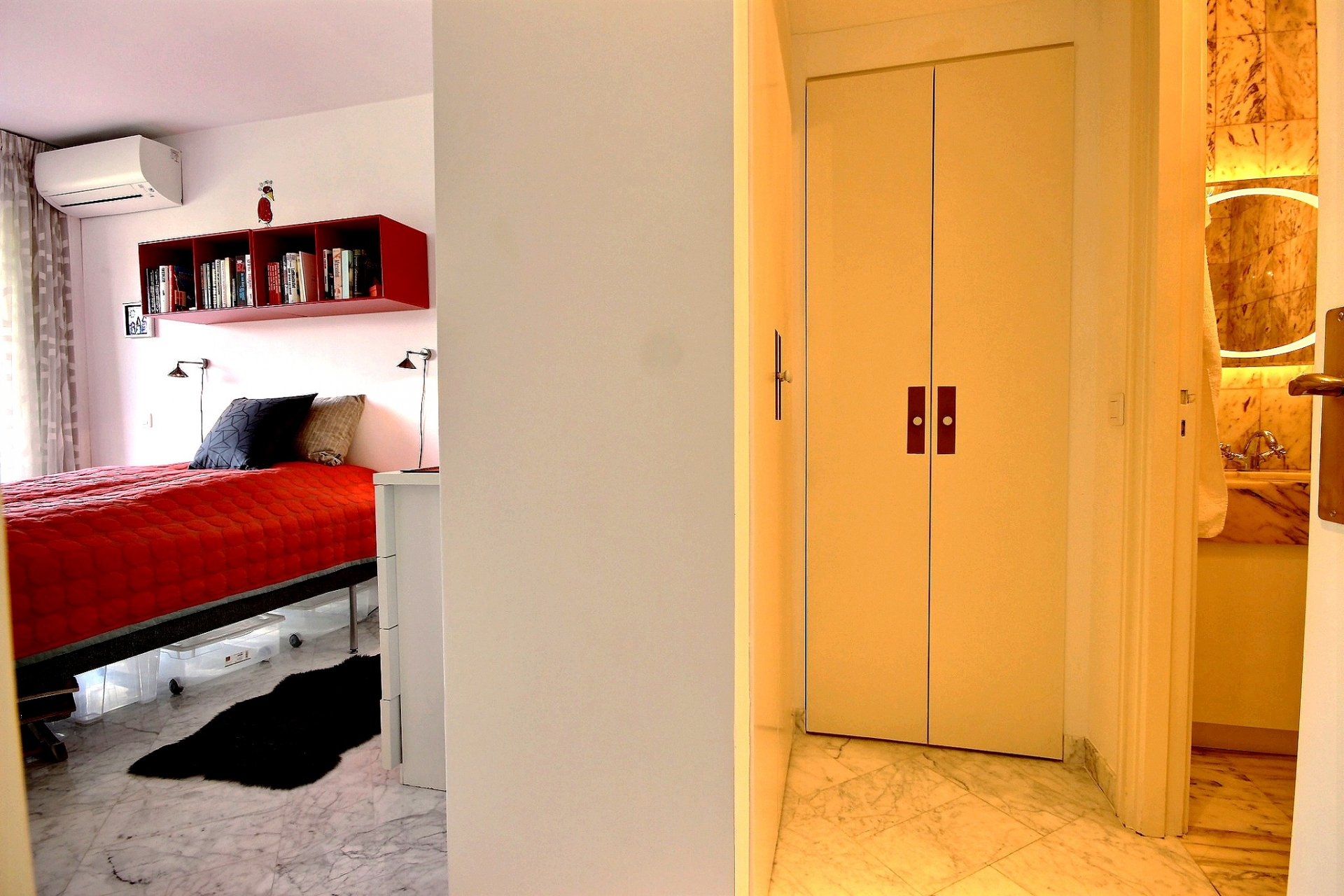 Sole agent 1 bedroom flat for sale  in Parc Penh Chaï Le Cannet French Riviera