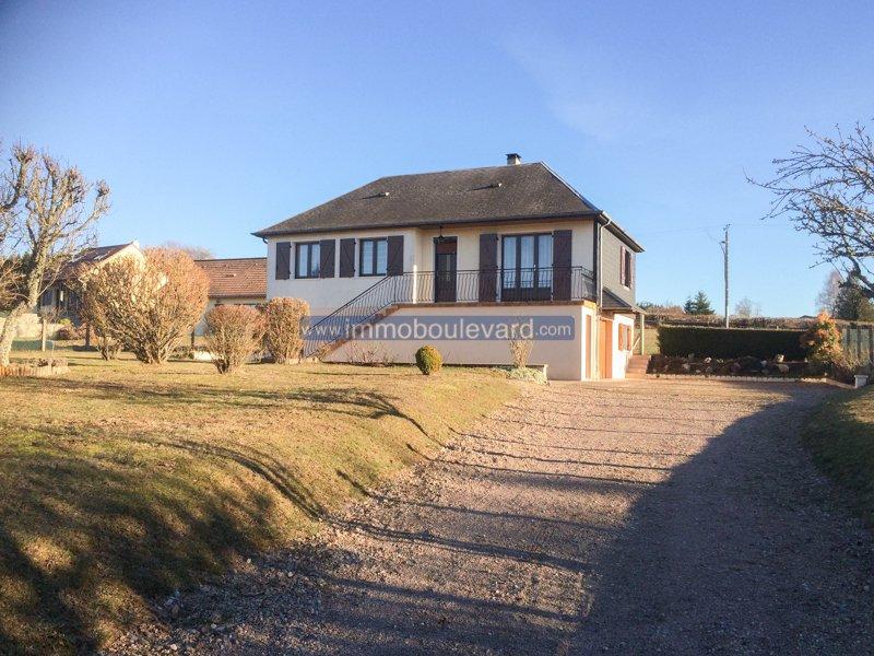 Morvan, schönes Haus zum Verkauf in der Nähe von Château Chinon