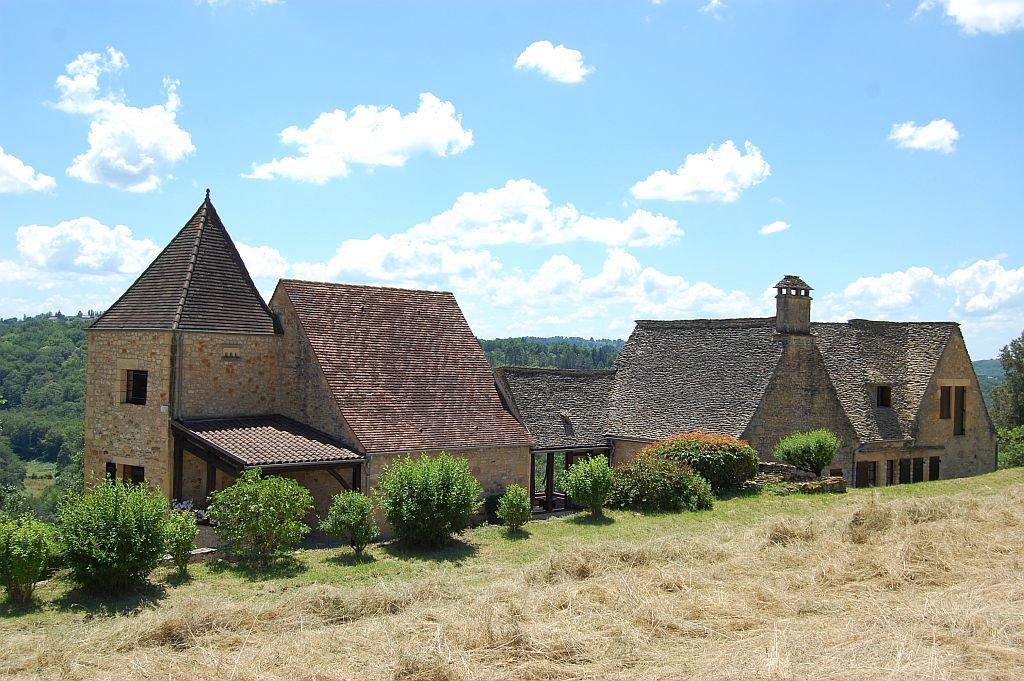 DORDOGNE - Belle propriété au coeur du Périgord noir, vue panoramique