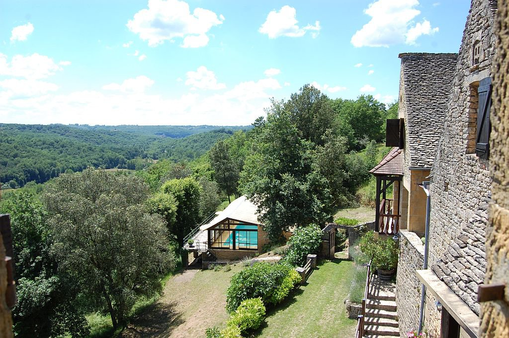 DORDOGNE - Landgoed in het hart van de Périgord noir, prachtig uitzicht