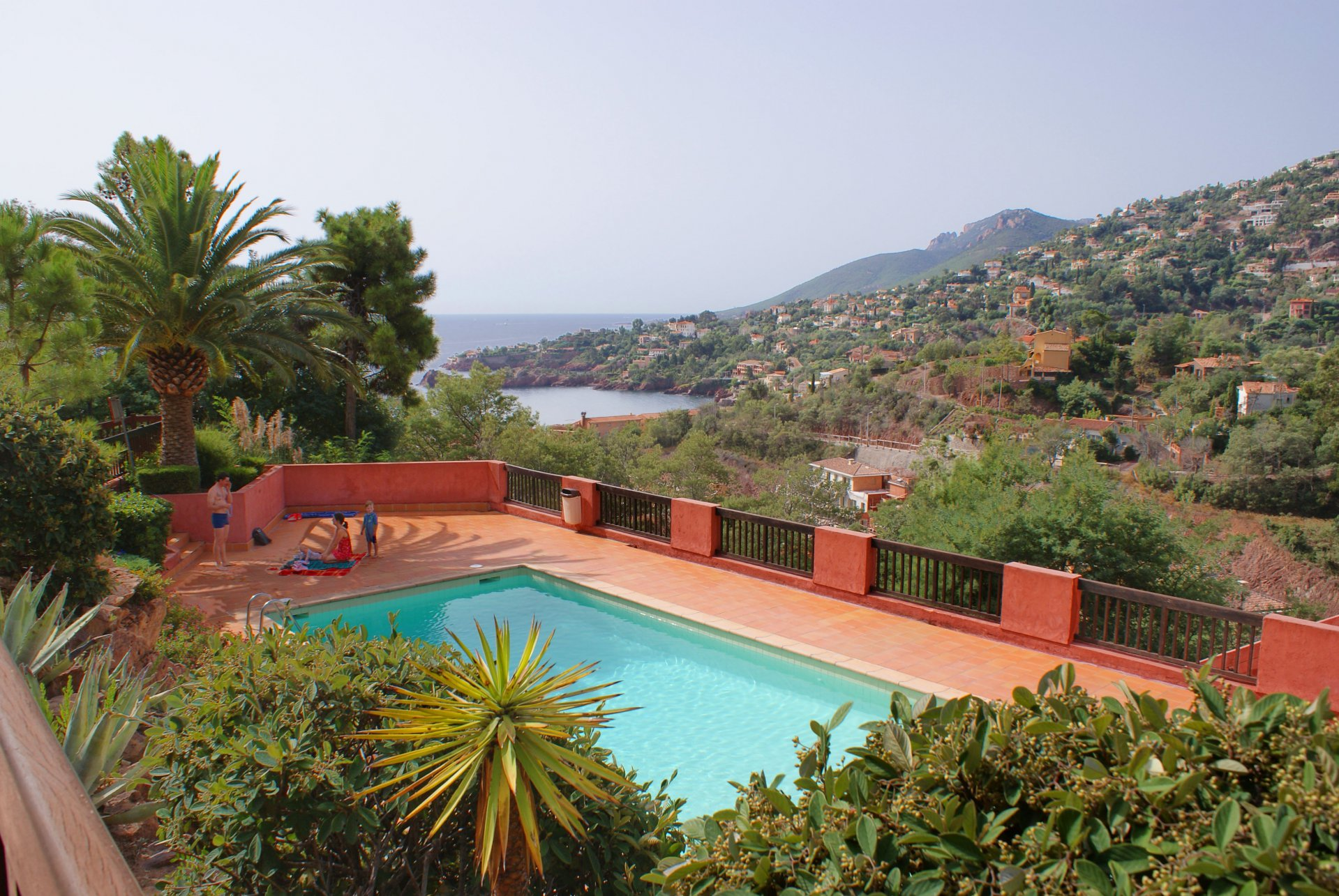 Charming 2-leveled villa,  beautiful view on sea and mountains