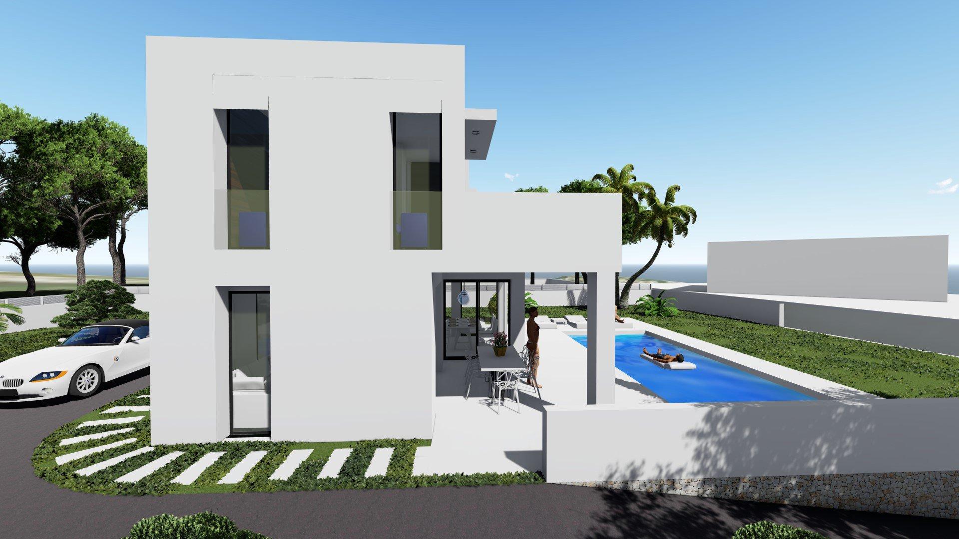 Maison nouvellement construite près de la plage de La Fustera à Benissa