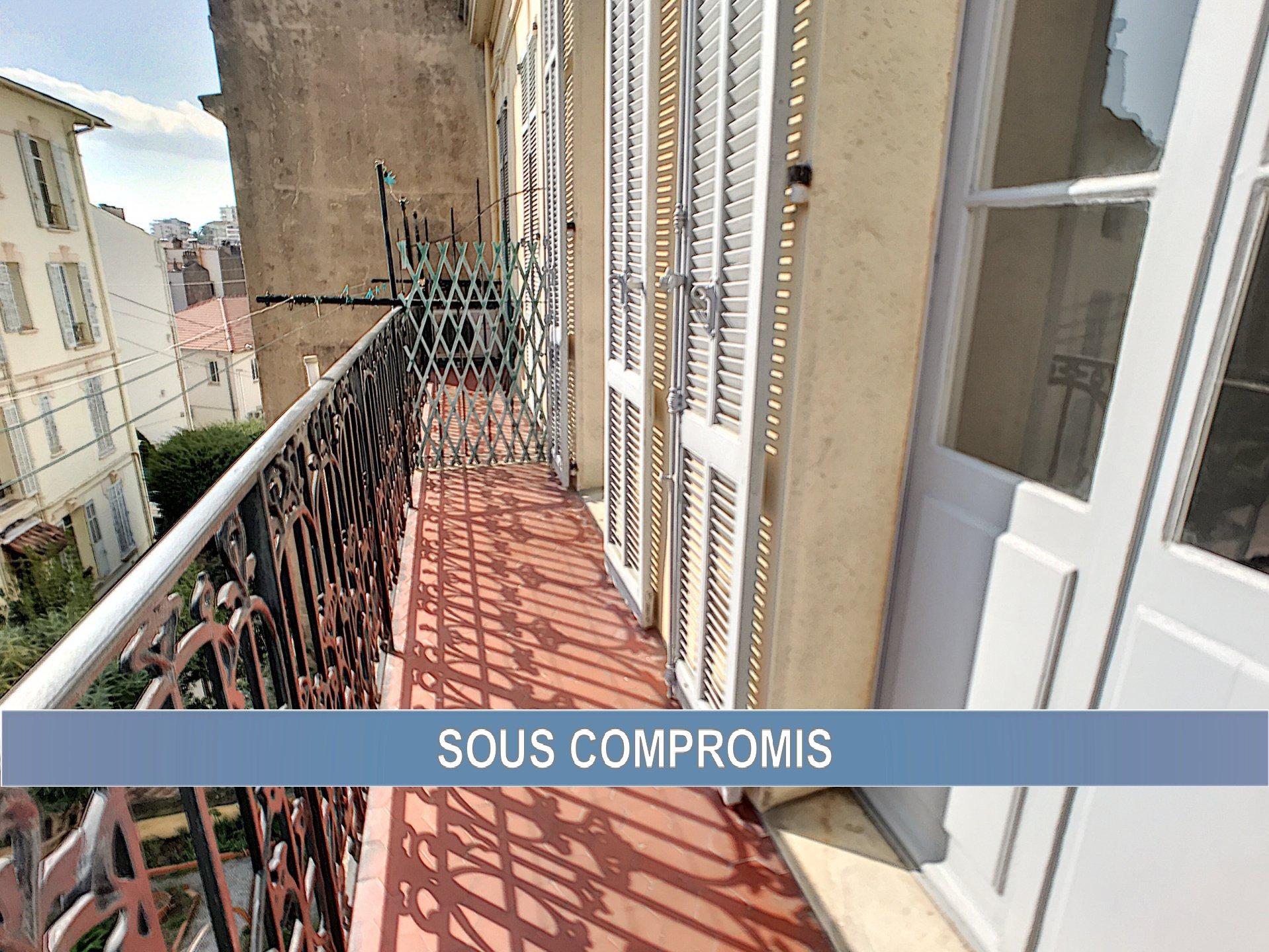 Saint Nicolas, 3P Bourgeois avec balcon et cave