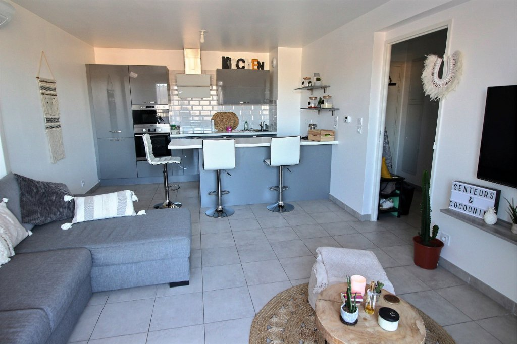 APPARTEMENT - SAINT-LOUP - MARSEILLE 13010 - TYPE 3 de 56.4 m² avec terrasse de 7.5 m² - place de parking privative en sous-sol sécurisé.