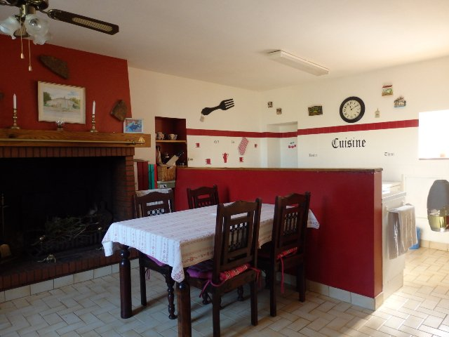 House with 3 bedrooms near Bellac in the Haute Vienne