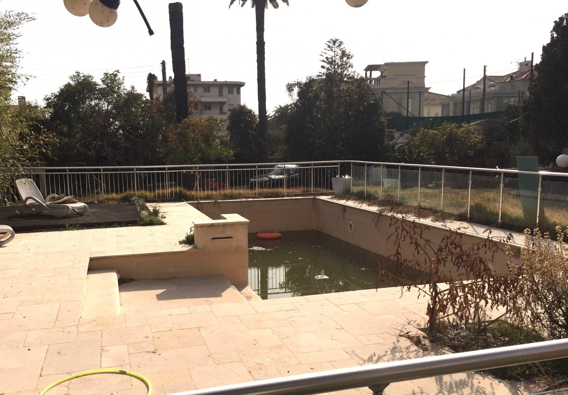 Nice Parc Imperial 4 pièces/piscine