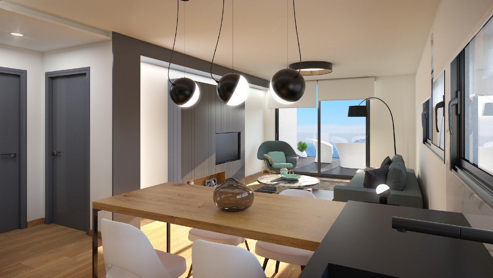 Appartements modernes nouvellement construits à Benitachell