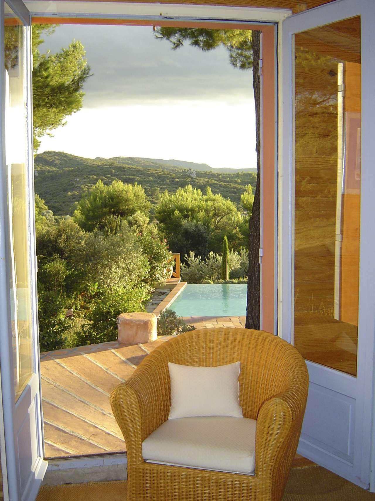 maison dans les Alpilles avec vue exceptionnelle