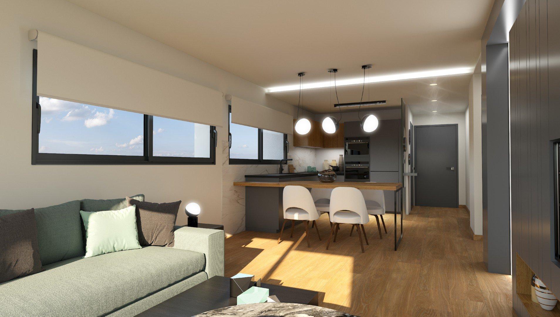 Modern new built apartments in Benitachell
