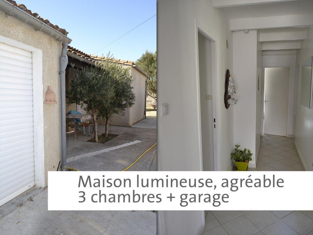 Villa T4 plain-pied + garage sur 560 m² de terrain