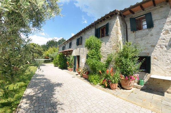 ITALIE, TOSCANE, MONTECATINI TERME, MAISON DE CAMPAGNE AVEC PISCINE, 6 PERSONNES
