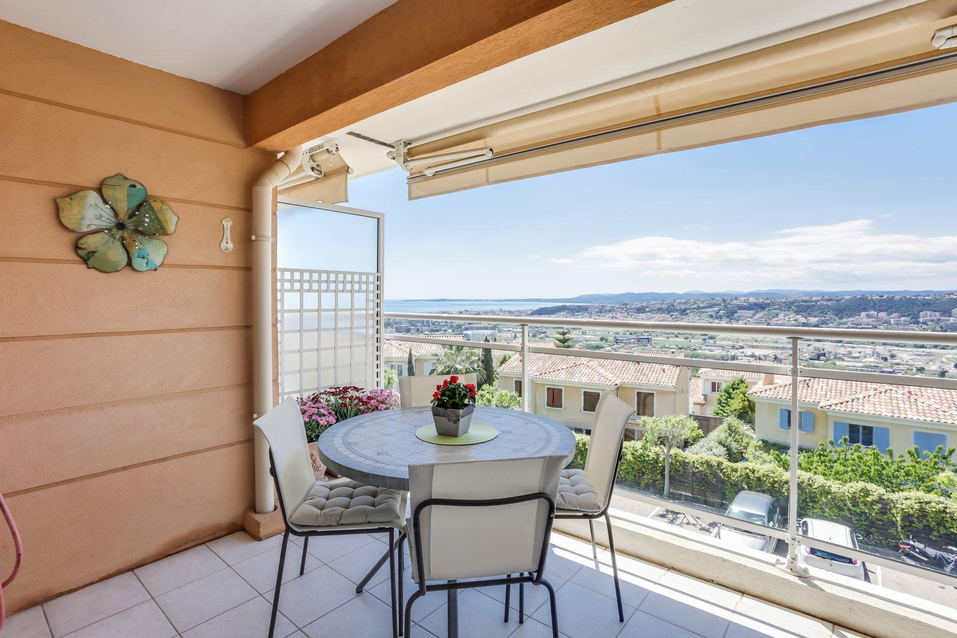 3P avec terrasse, piscine et parking - Nice Ouest