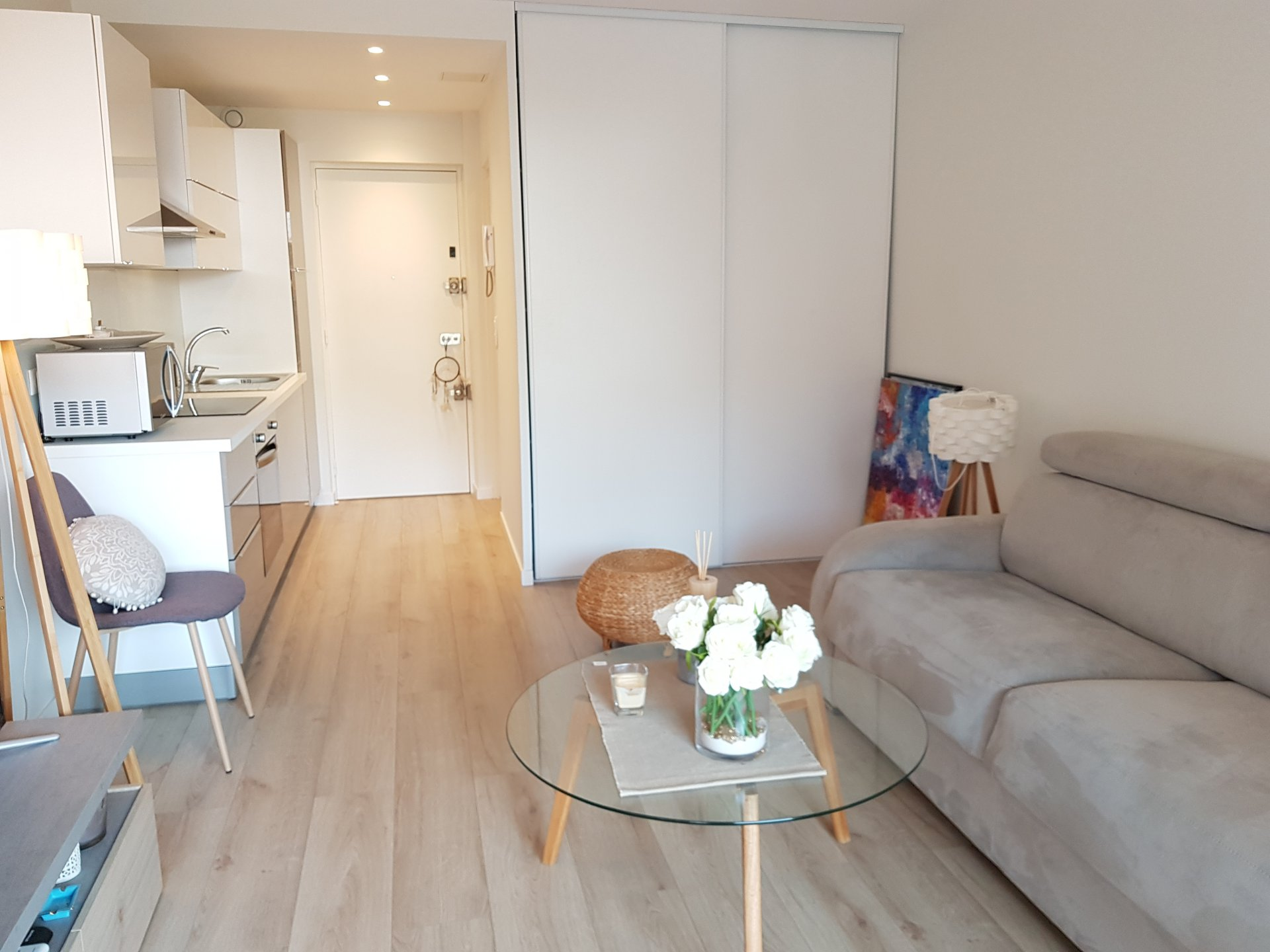 rental for congress and holidays studio Cannes Montfeury