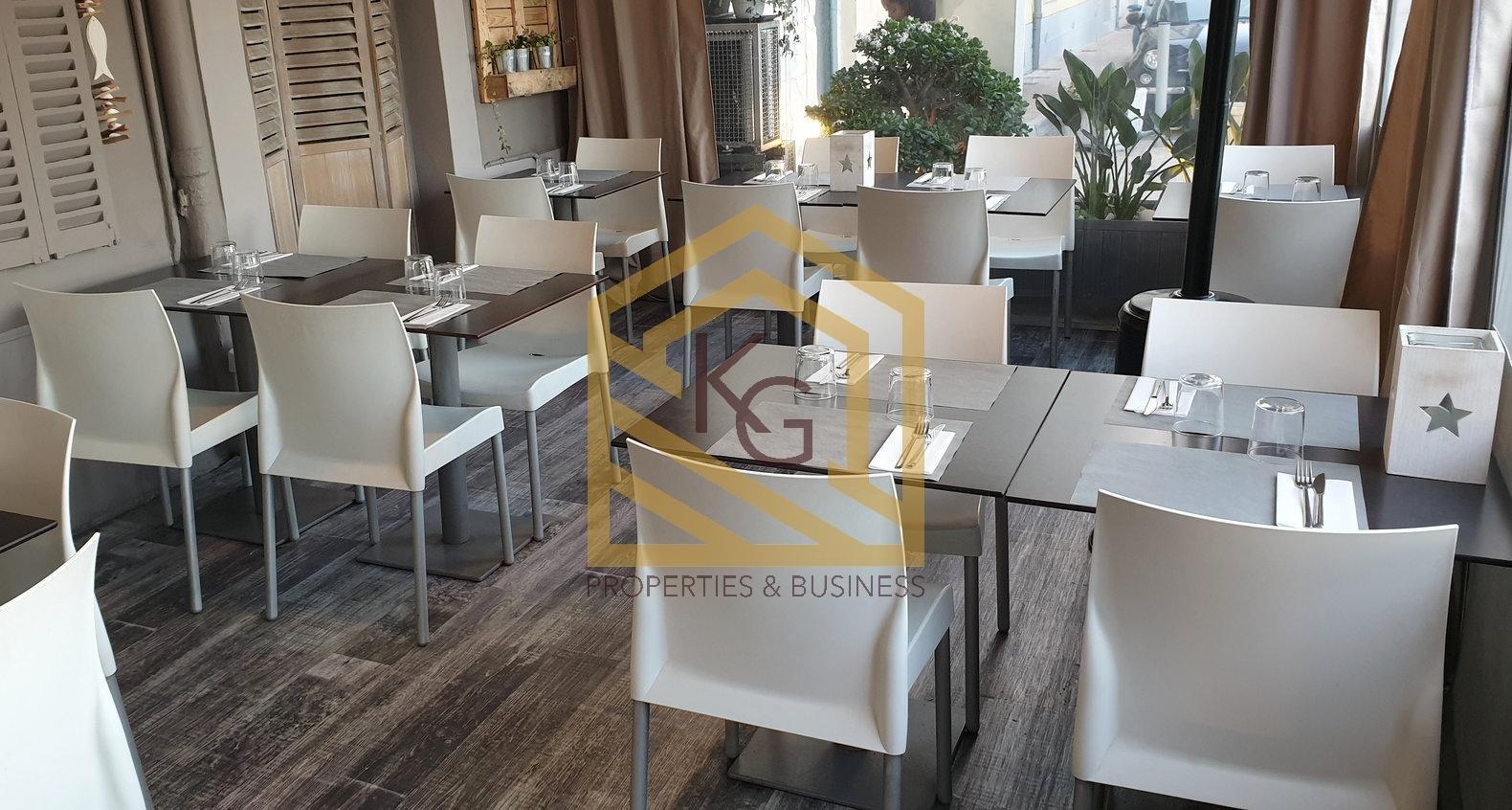 A vendre fonds de commerce restaurant à Menton