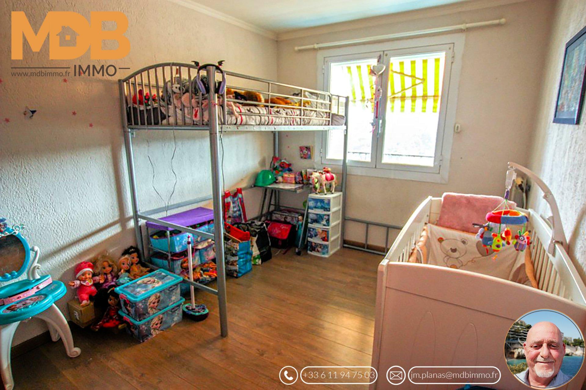 Appartement 3 pièces vue mer