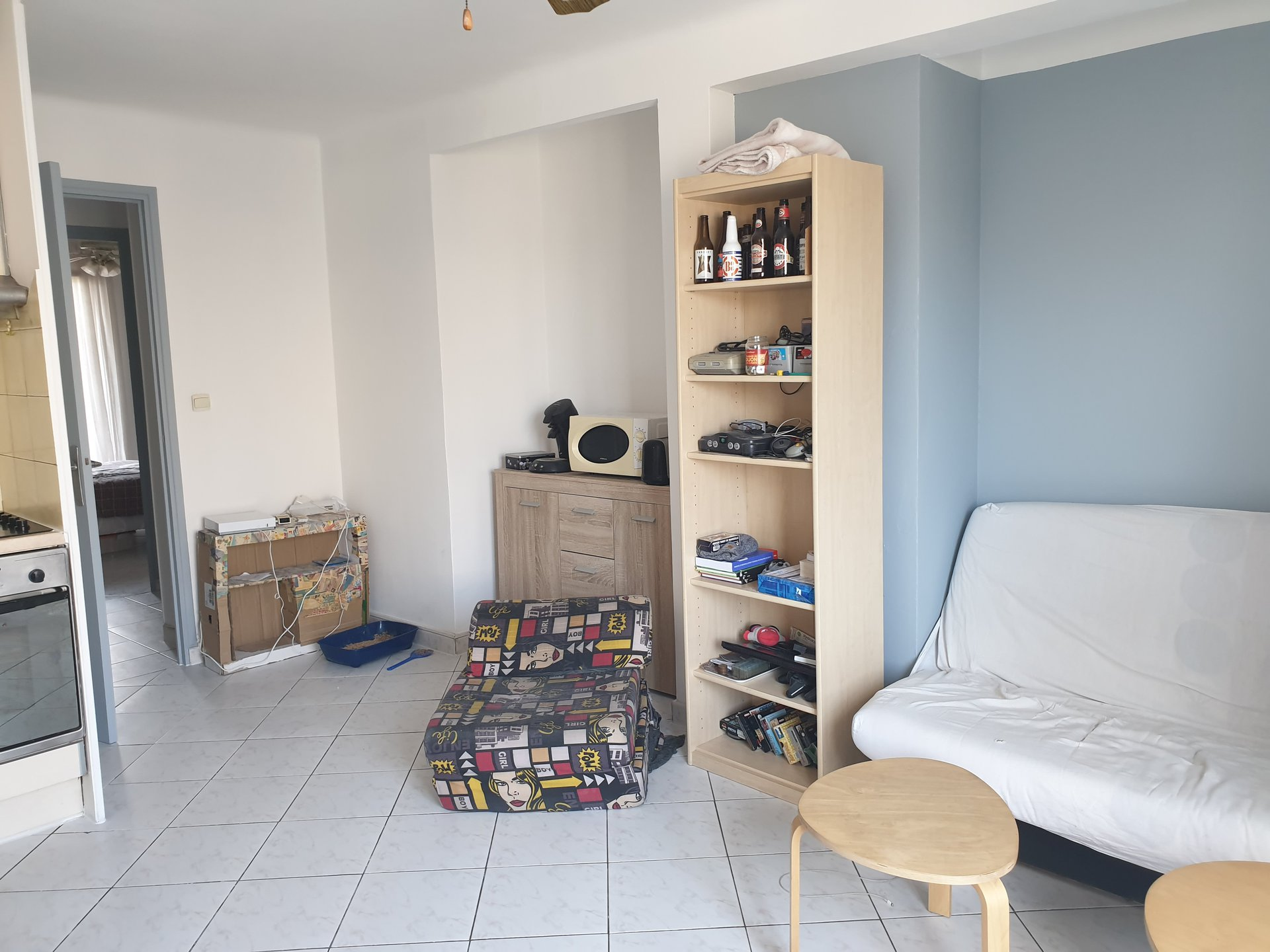 APPARTEMENT MEUBLE 2 PIECES A NICE OUEST