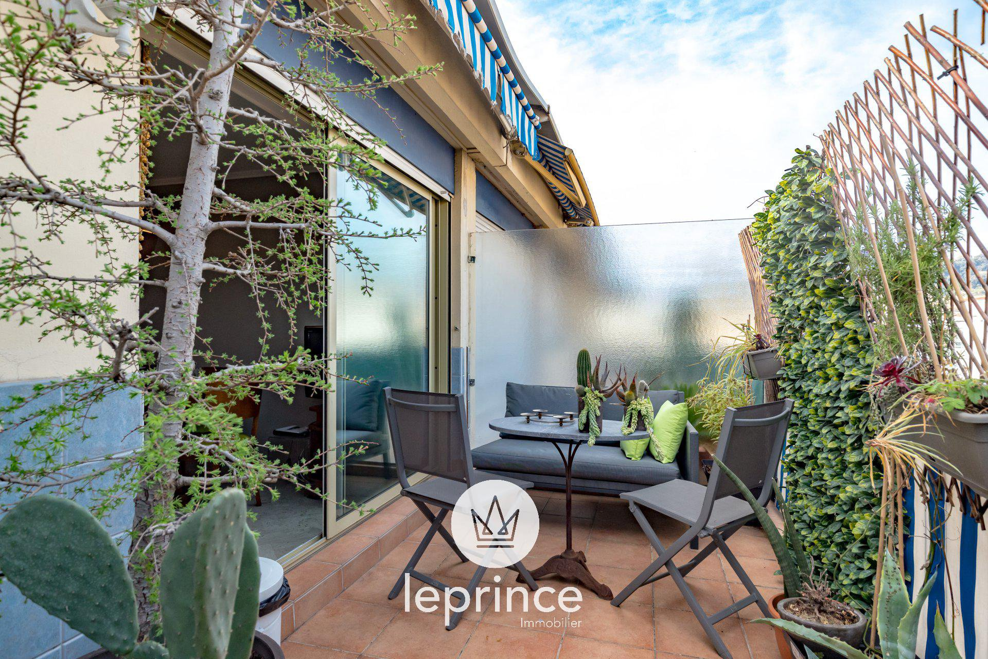 Nice Centre - Gambetta Two BedBedrooms Top Floor Terrace