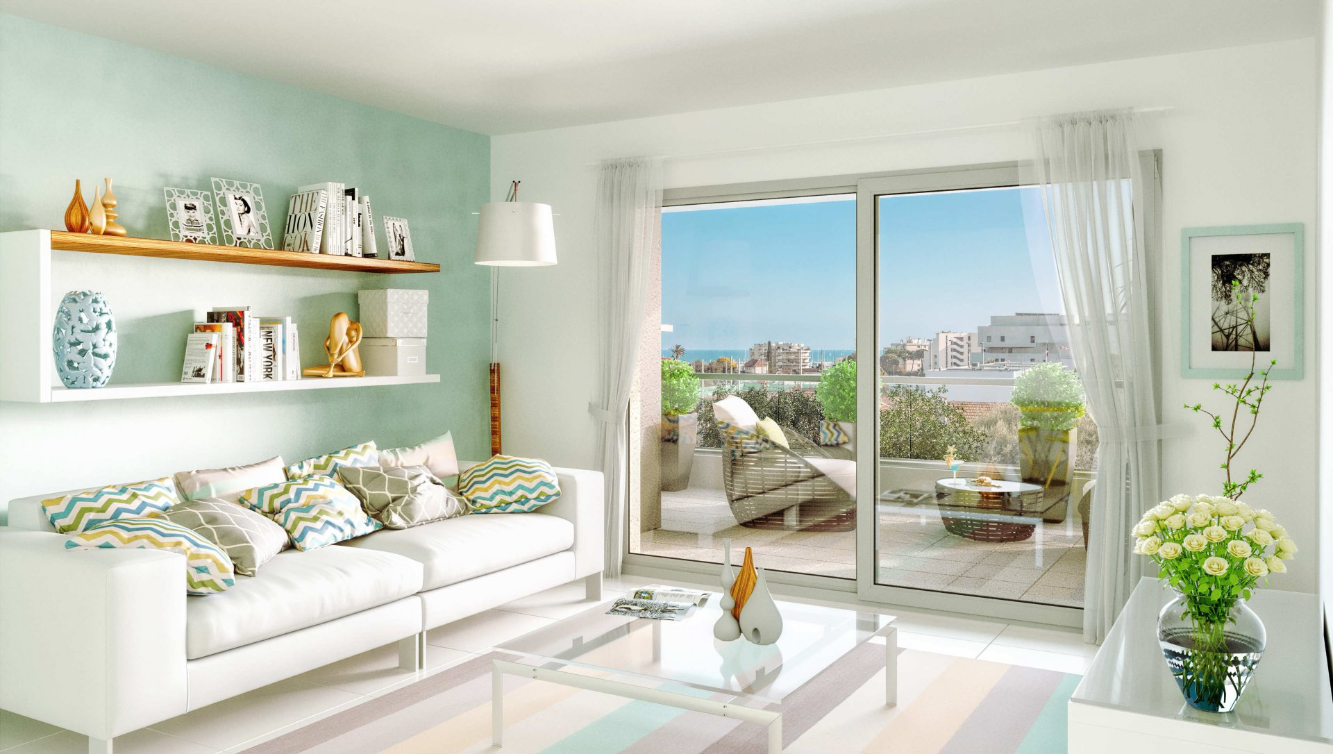 Vente Appartement - Antibes Piscine