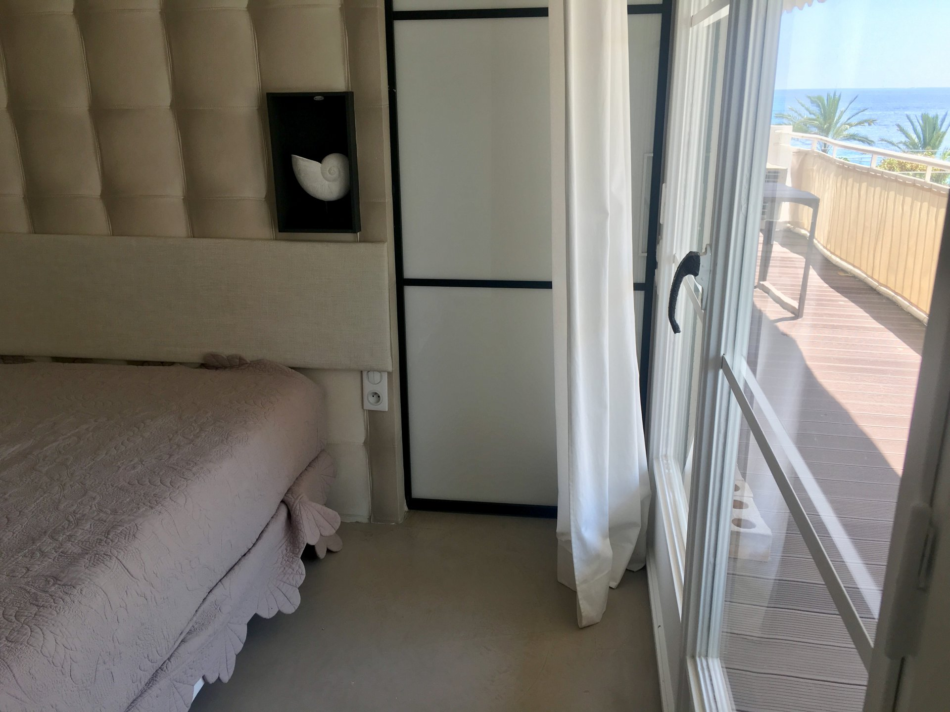Cannes Palm Beach sea view 3P renovated