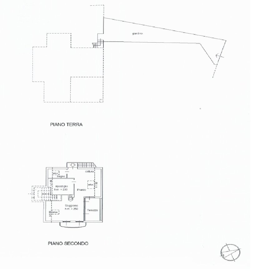 Modern villa near Stresa centre - floor plan B