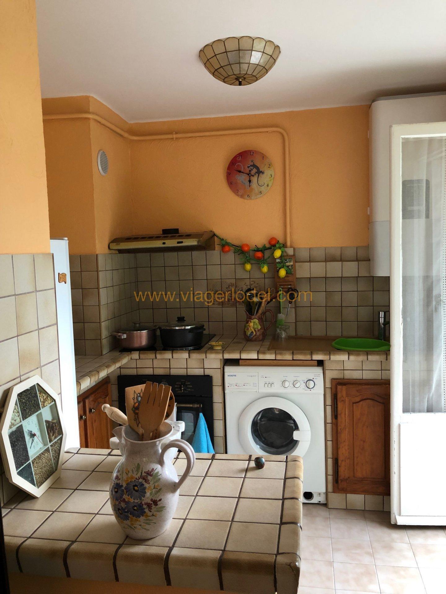 Life annuity Apartment - Menton Borrigo-Haut