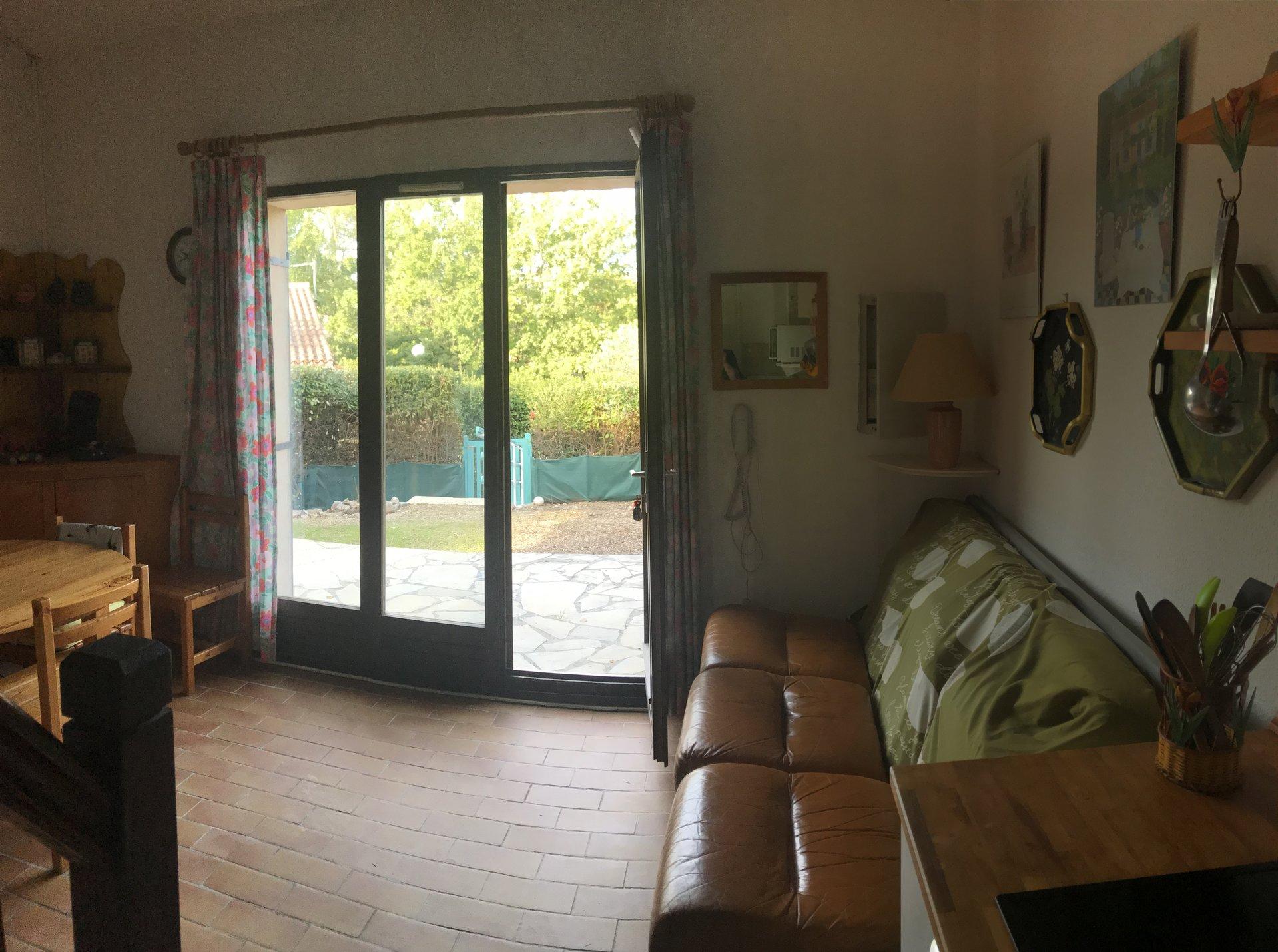 Fayence: maison jumelée dans un domaine avec piscine et tennis