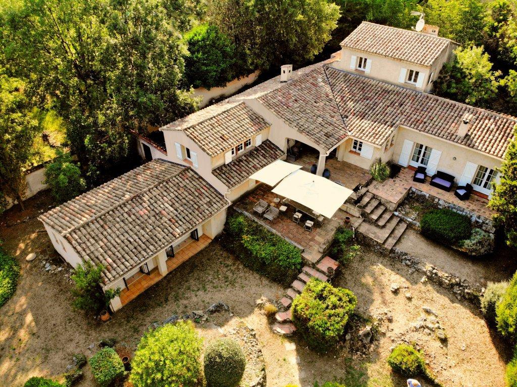 Villa from drone