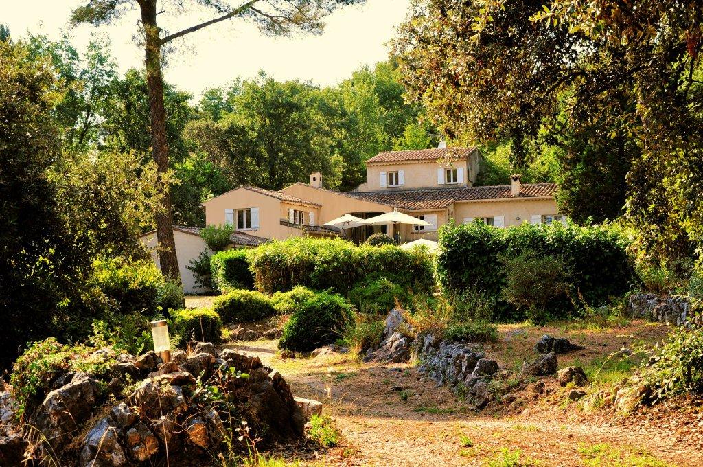 Villa from driveway