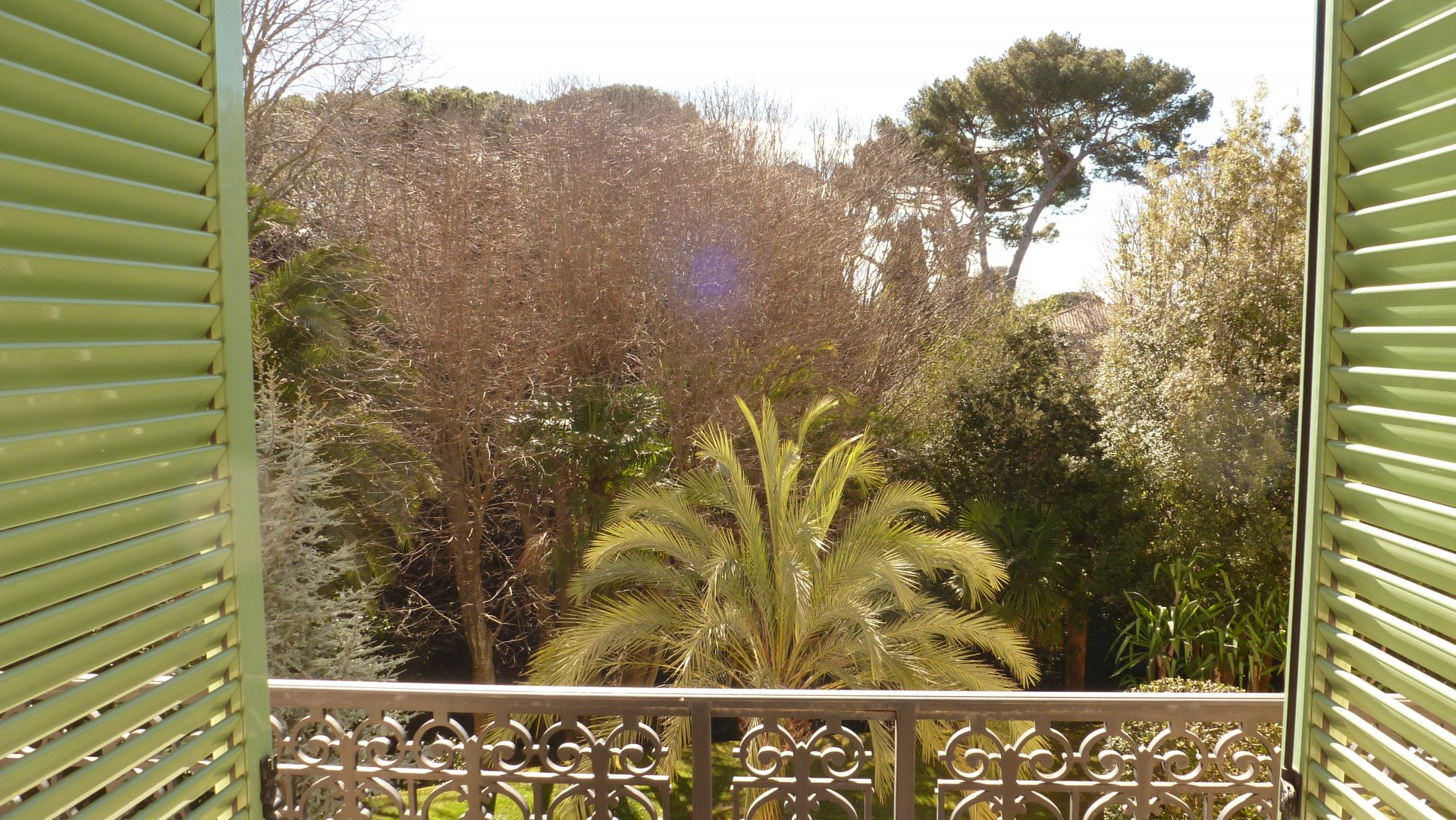 CANNES 4P 178M² OPEN VIEW on a Century GARDEN