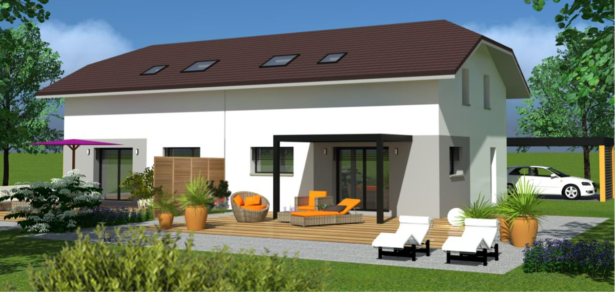 Maison 3/4 chambres a  Valleiry 74520