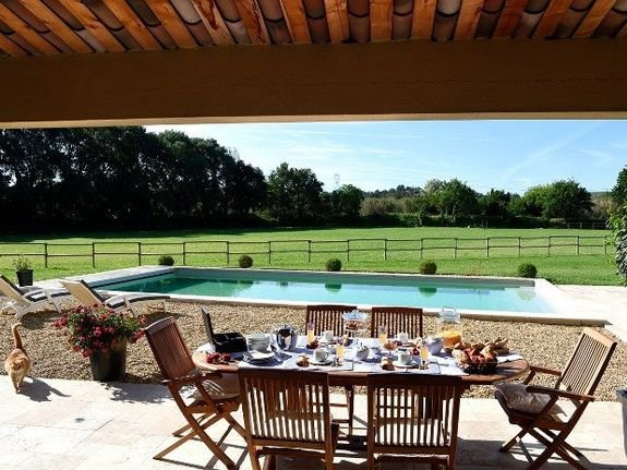 REMARKABLE STONE PROVENCAL FARMHOUSE, BED AND BREAKFAST AND EQUESTRIAN CENTER
