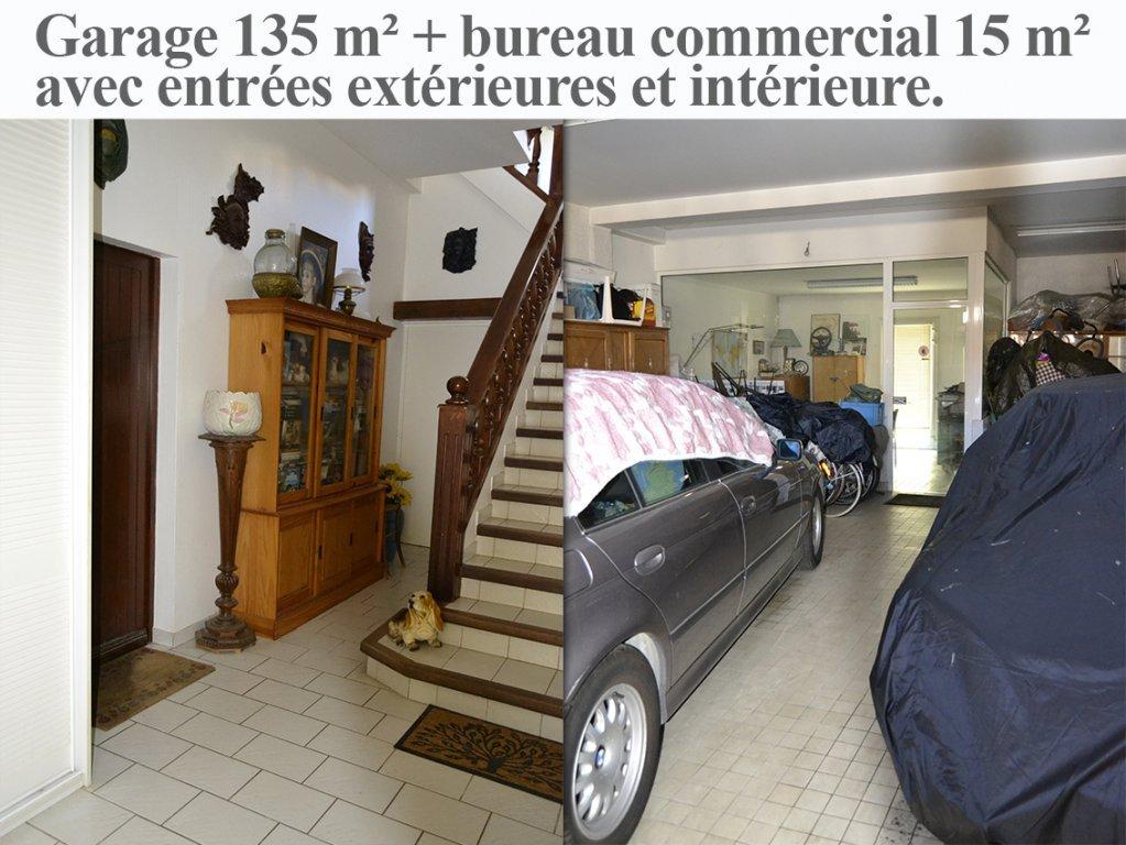 Bord de MER maison 166 m² + garage 135 m² + bureau - terrain 800 m²