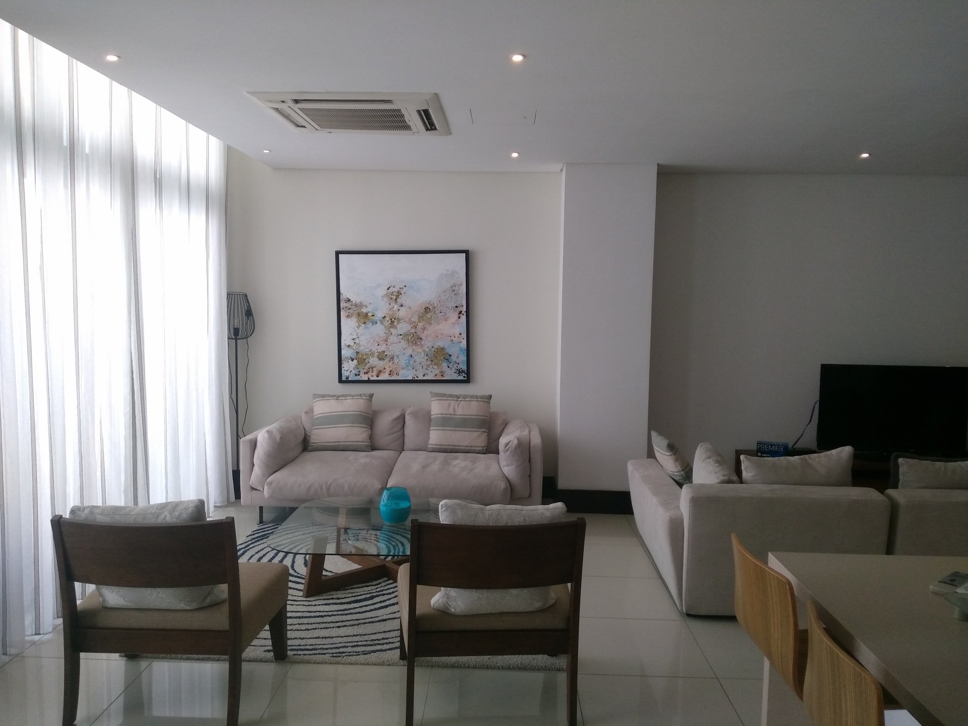 Modern duplex in the heart of the city