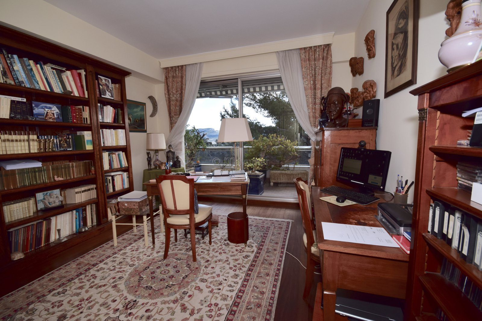 Viager occupé- superbe appartement T4 avec terrasses