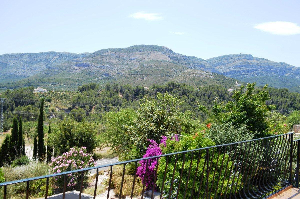 Villa en première ligne avec des vues fabuleuses