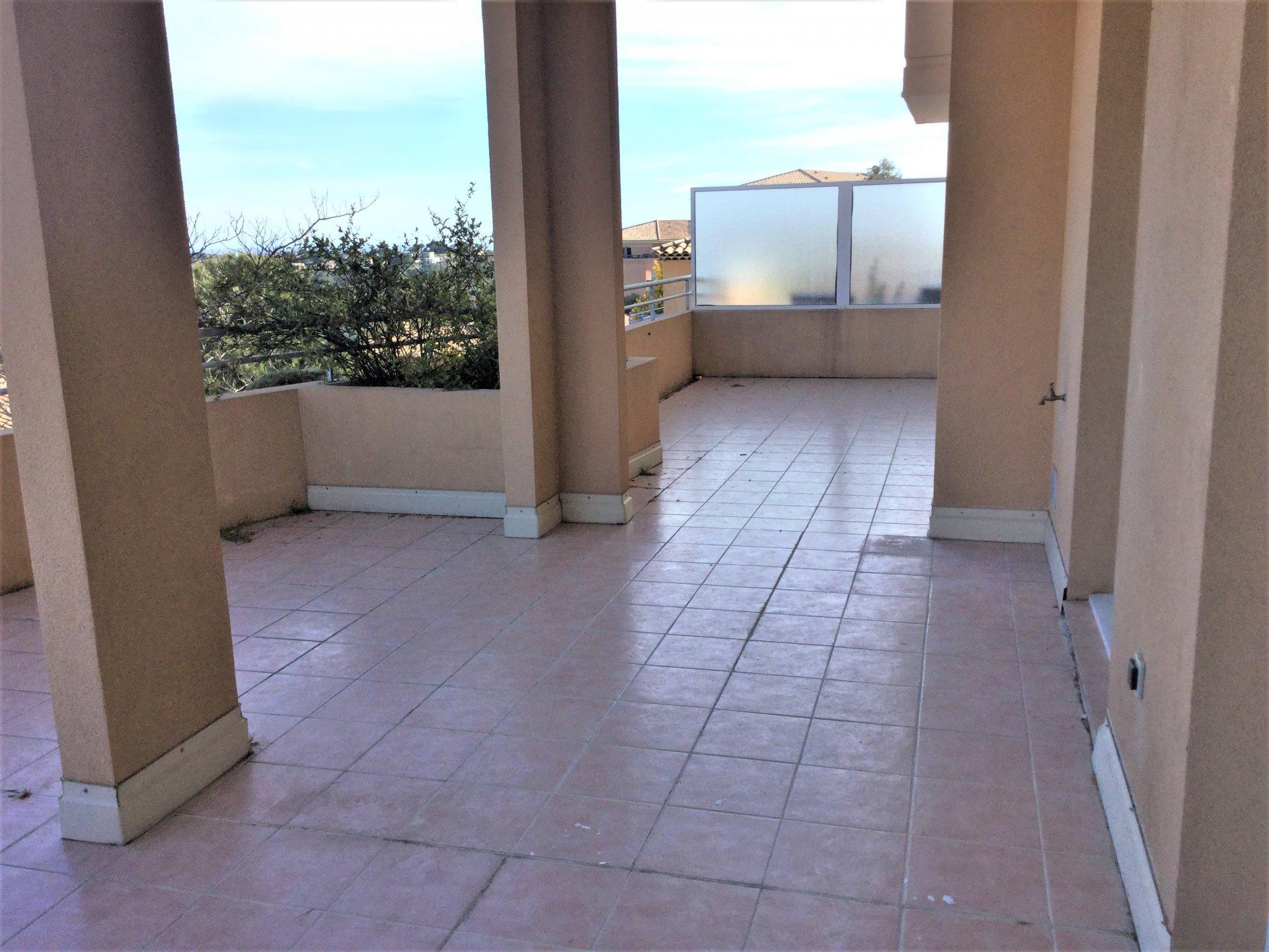 BIOT St. Philippe - Appartamento di 3 locali 66 m² - vista panoramica sul mare
