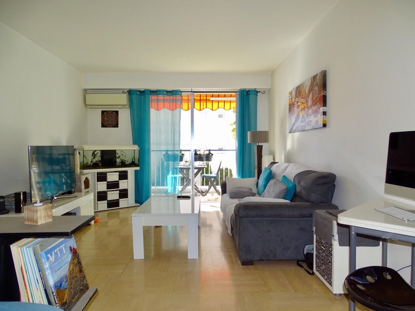 EXCLUSIVITE - NICE LE RAY - APPARTEMENT F2 - 55M² - TERRASSE - CALME