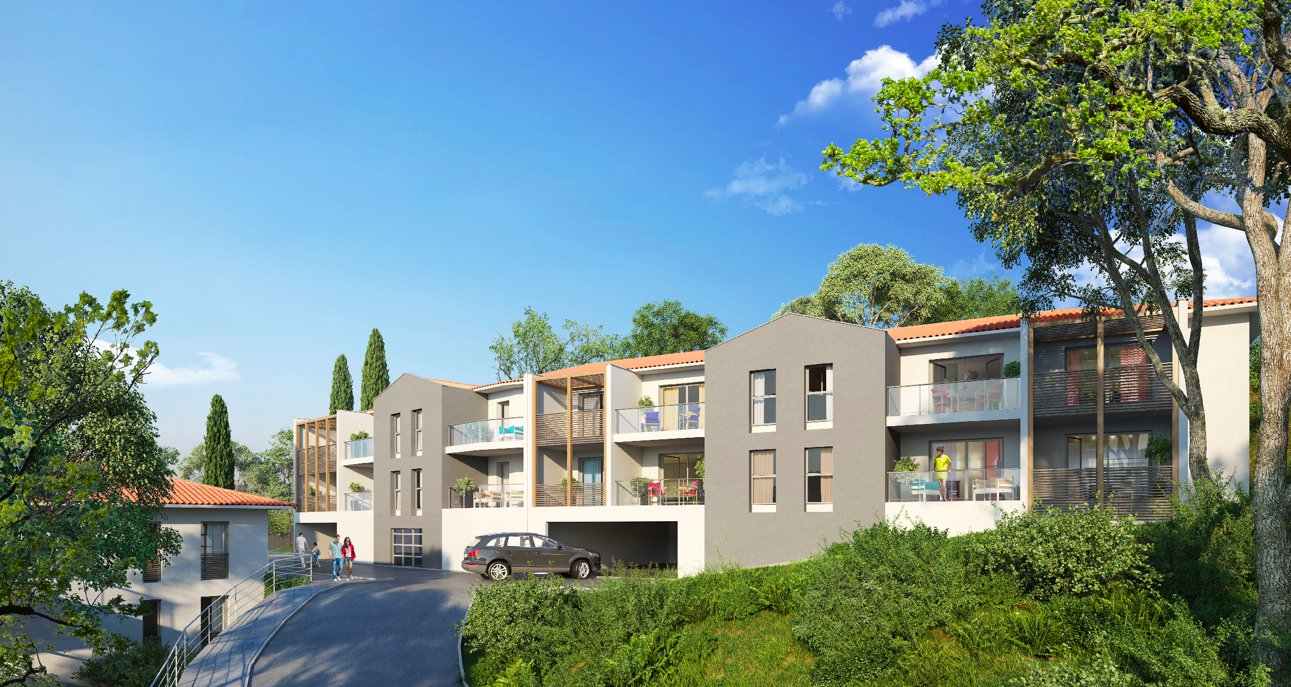 Appartements type 2 avec terrasse et parking
