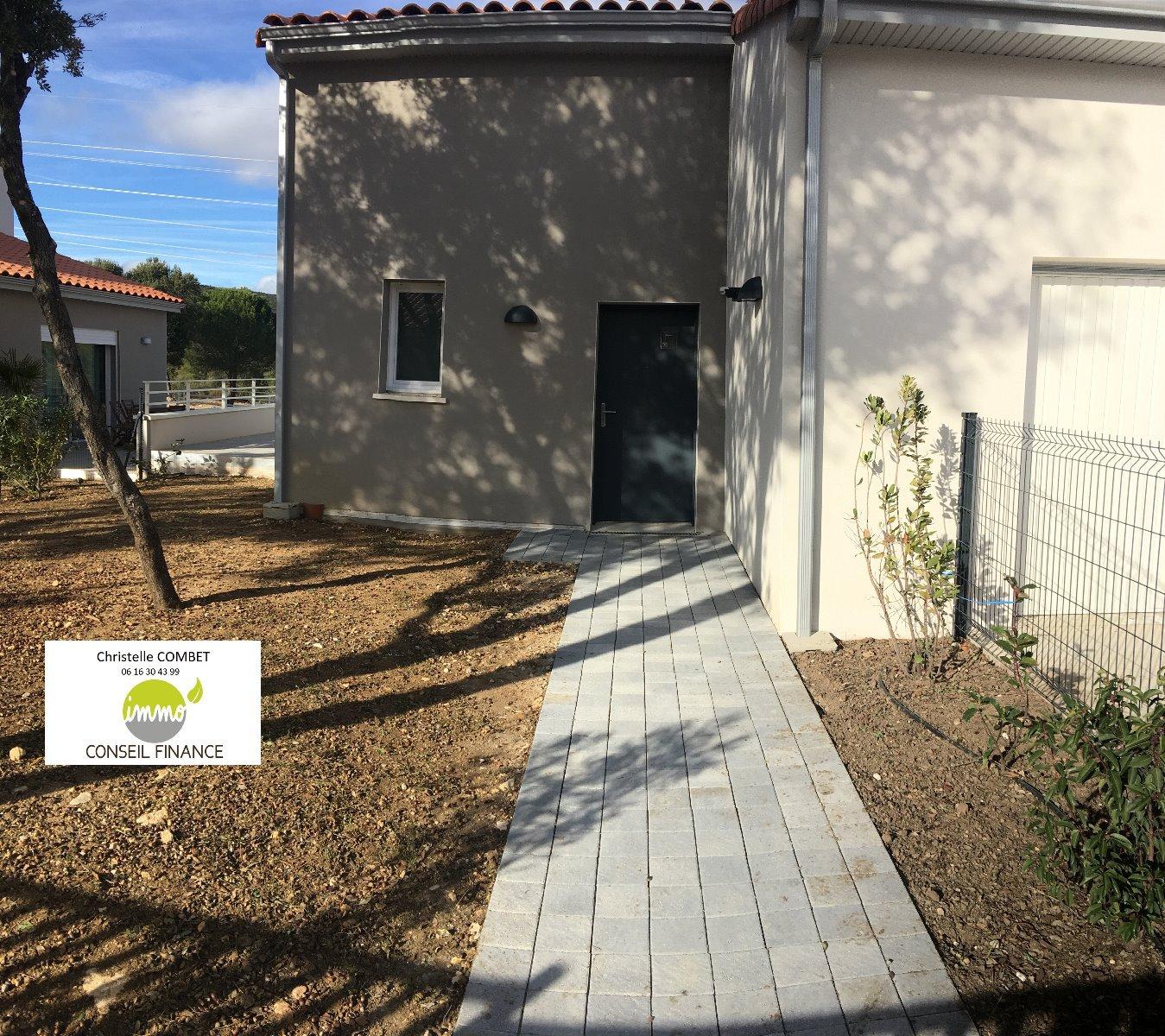 Villa T4 de 100 m2 avec garage à Saint GELY DU FESC
