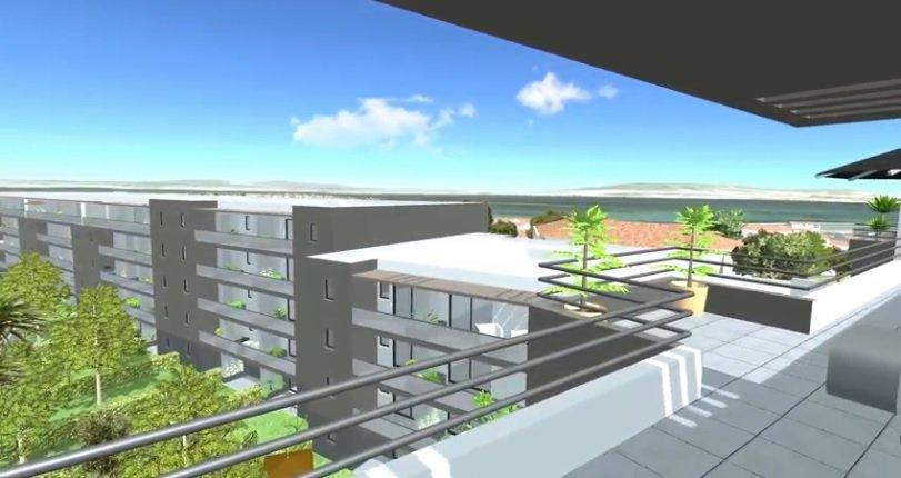 Appartement T3 de 69 m2 avec terrasse de 12 m2 et une place de parking à SETE