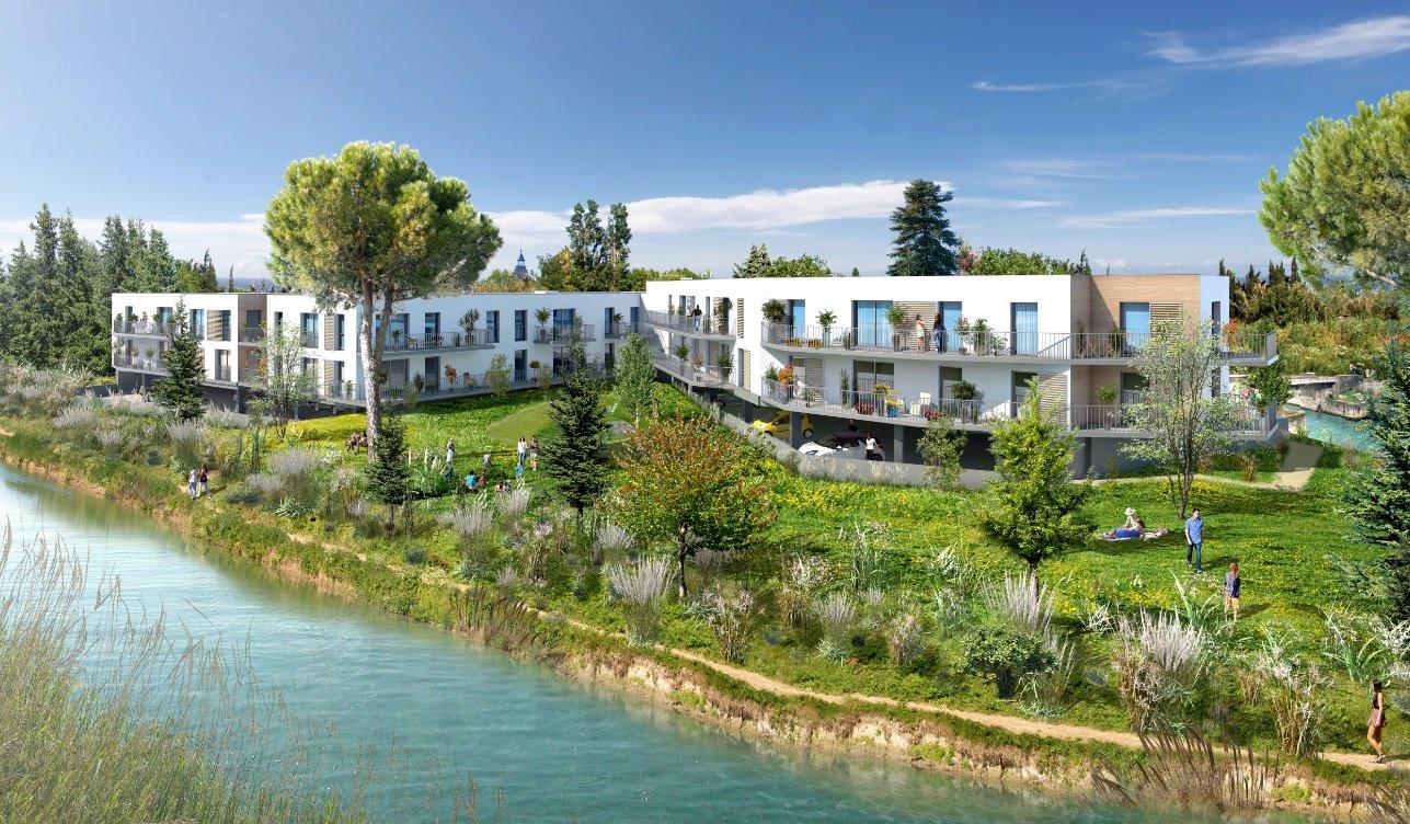 Appartement T2 avec terrasse et parkings