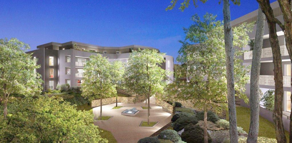T1 avec Terrasse donnant sur Jardin verdoyant