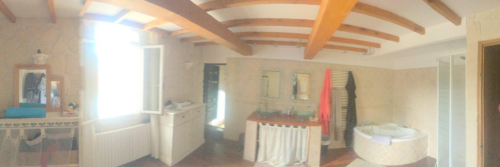 Mas en pierre 7 pièces de 300 m2 habitable avec garages et piscine