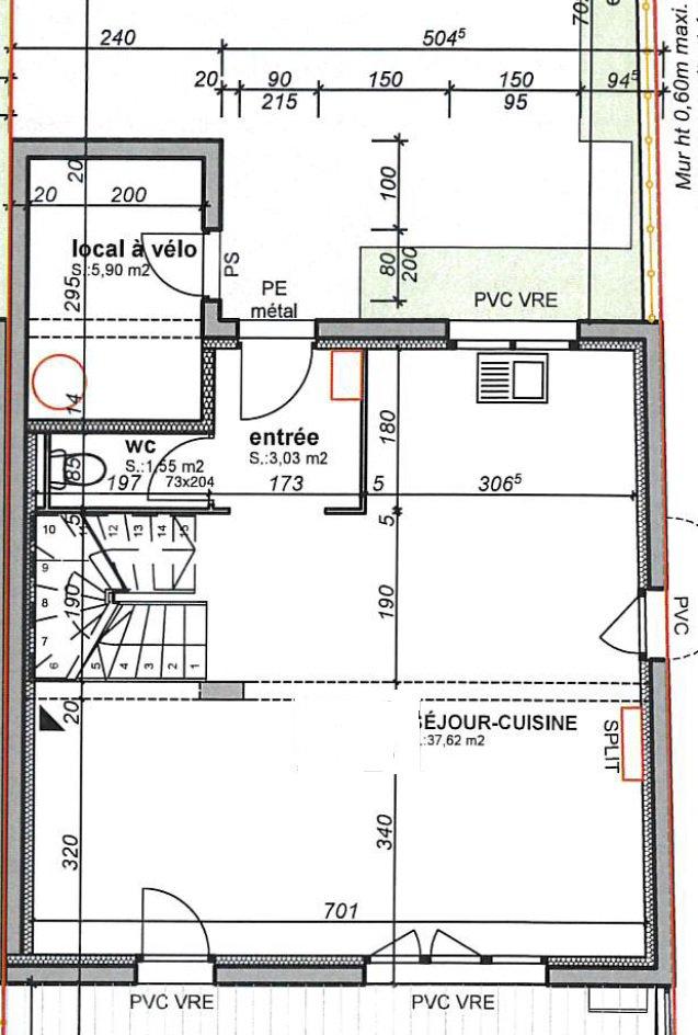 Villa T4 dans un environnement résidentiel