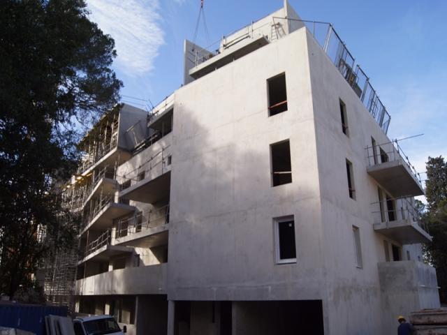 Superbe T2, de 46.66 m 2 , au deuxième étage, dans une résidence Neuve, à Montpellier, quartier Aiguelongue