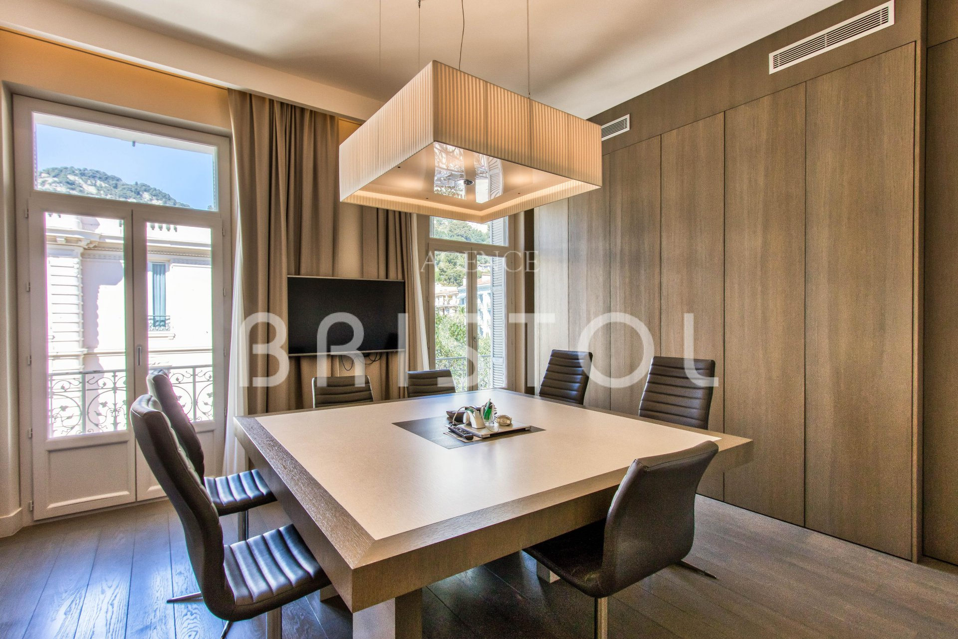 Beaulieu sur Mer downtown , luxury and large top floor apartment for sale