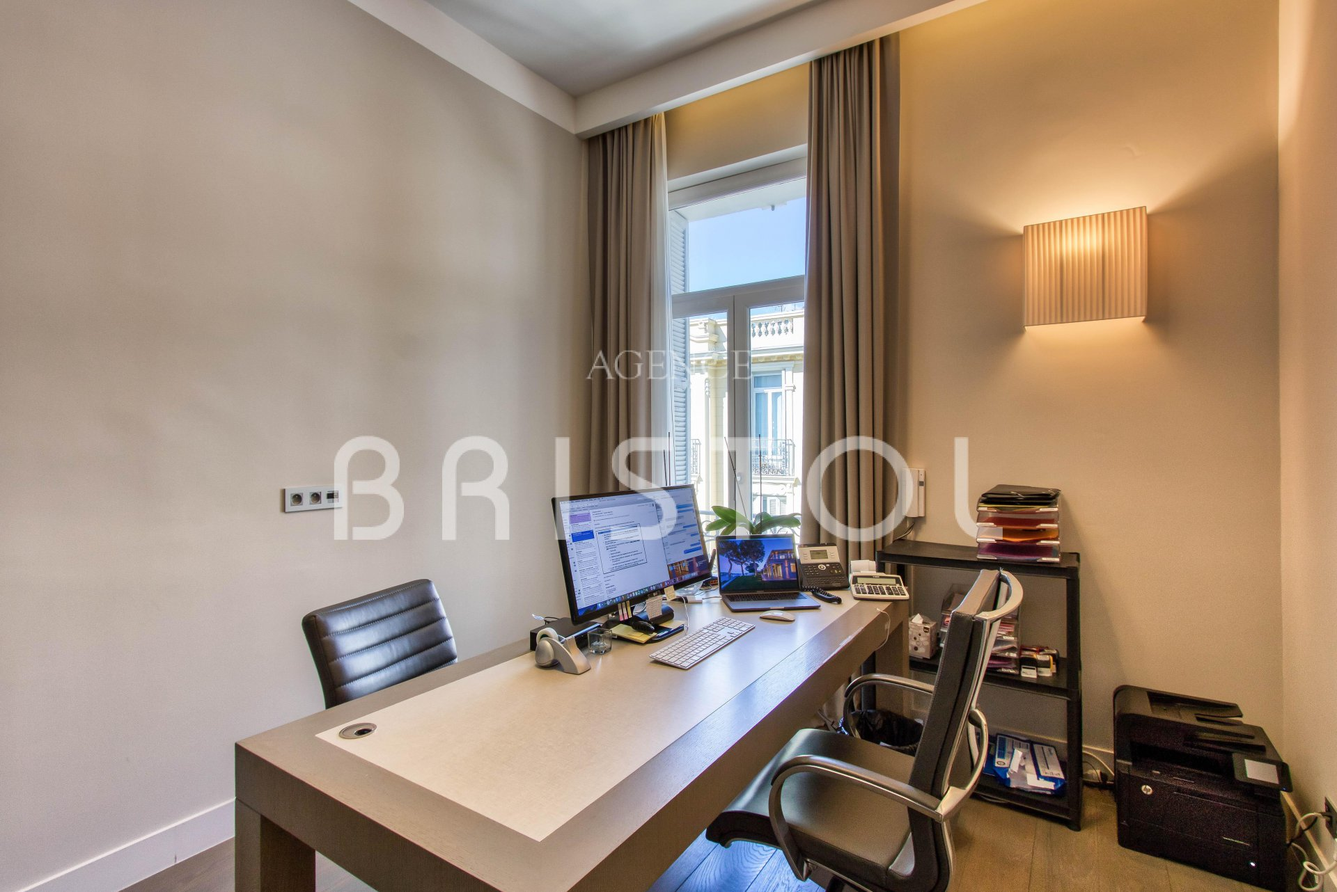 Beaulieu sur Mer, luxury and large top floor apartment for sale