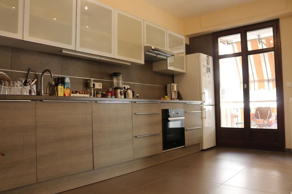 NICE PORT- LOCATION APPARTEMENT 3P MEUBLE